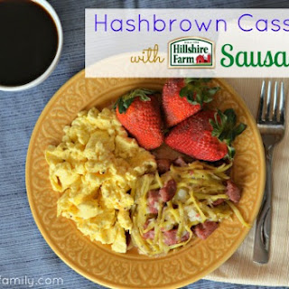 Cheesy Hashbrown Casserole with Sausage