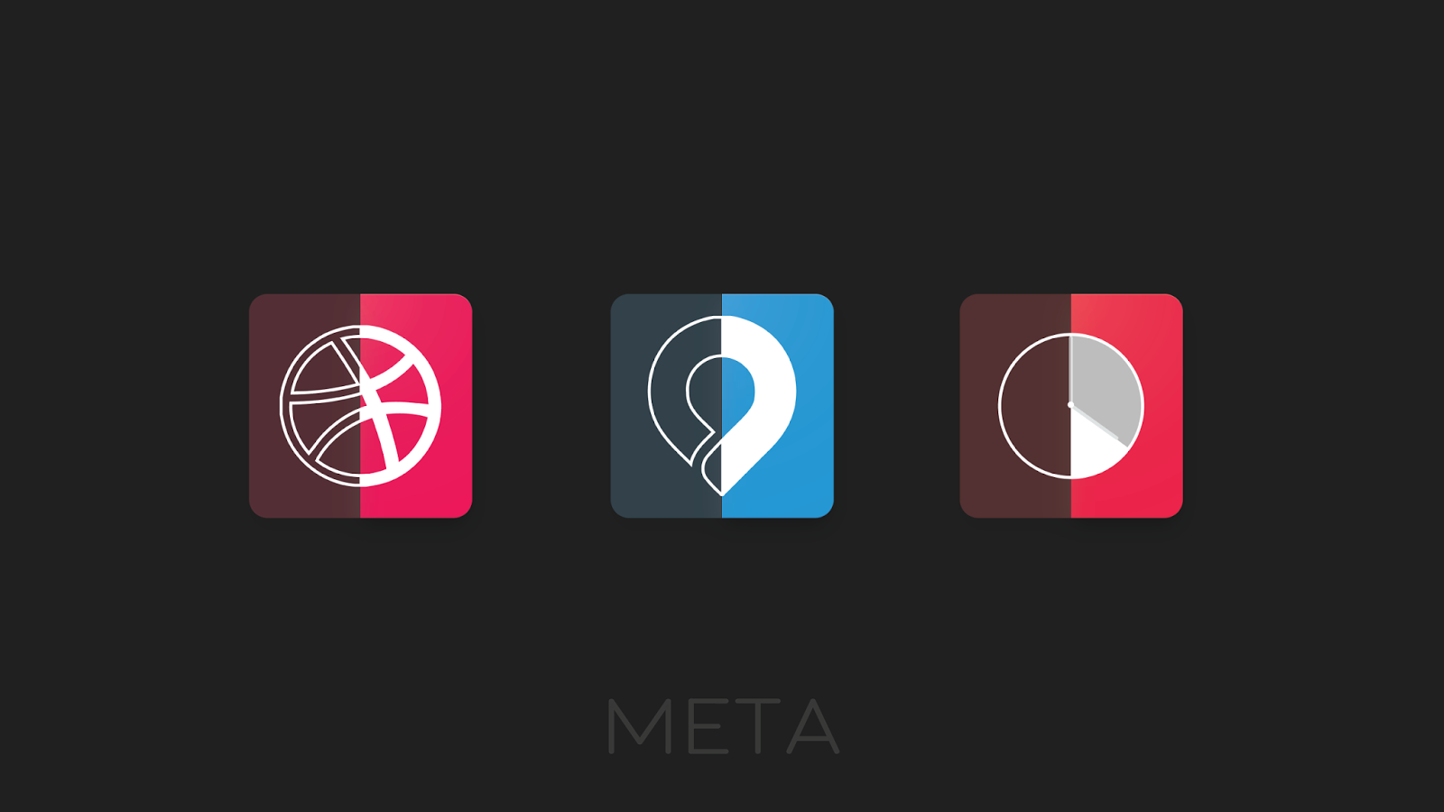 Meta Iconpack Beta Screenshot 3