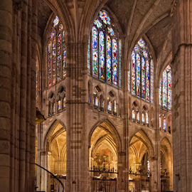 Catedral de Leon by Jomabesa Jmb - Buildings & Architecture Places of Worship ( oracion, iglesias, leon, castilla leon, españa )