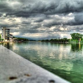 Rowing canal HDR by Sergey Sokolov - City,  Street & Park  Vistas ( plovdiv bulgaria hdr rowing canal )