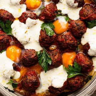 Maltese Pork Sausage Meatballs, Tomato, Raisin, Cumin And Eggs