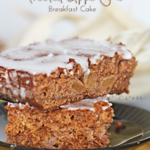 Frosted Apple Pie Breakfast Cake