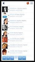 Screenshot of QueContactos Dating in Spanish