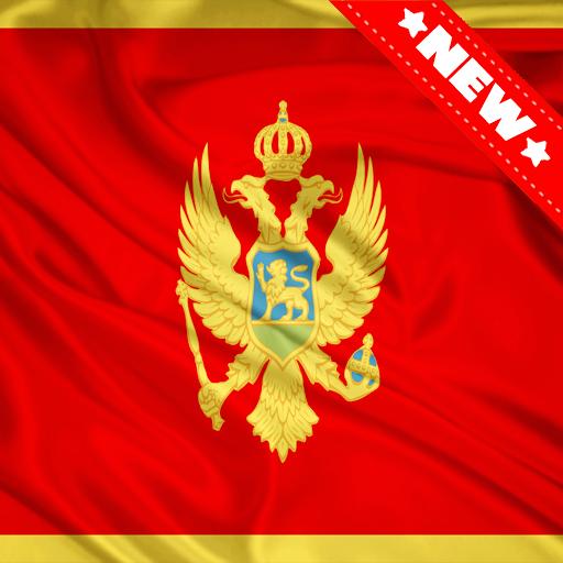 Android aplikacija Montenegro Flag Wallpaper na Android Srbija