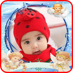 baby kids photo frames Icon