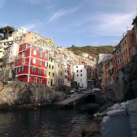Cinque Terre - Riomaggiore - Riomaggiore by Dražen Komadina - City,  Street & Park  Street Scenes ( cinque terre, riomaggiore )