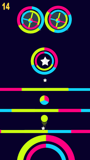The Color Switch - screenshot