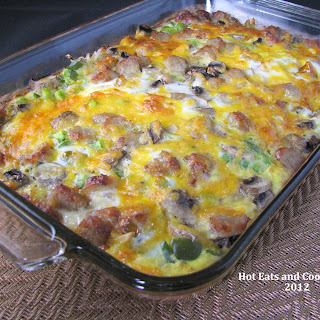 Hashbrown and Egg Breakfast Bake