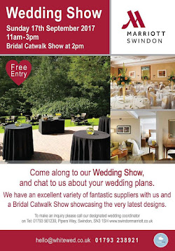 Swindon Marriott Wedding Show Sunday 17th September 11am-3pm