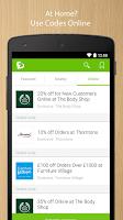 Screenshot of VoucherCodes.co.uk