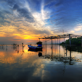 Sunrise Jubakar Kelantan by Nazeri Mamat - Landscapes Sunsets & Sunrises ( jubakar, sunrise )