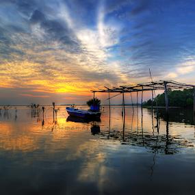 Sunrise Jubakar Kelantan by Nazeri Mamat - Landscapes Sunsets & Sunrises ( jubakar, sunrise )