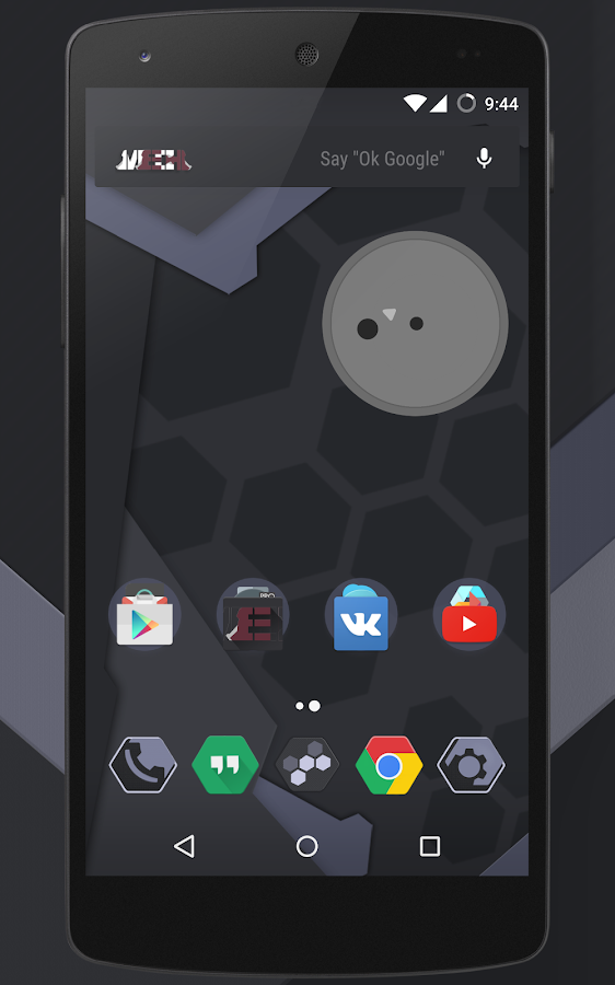Black Mech CM13 / CM12 THEME Screenshot 7