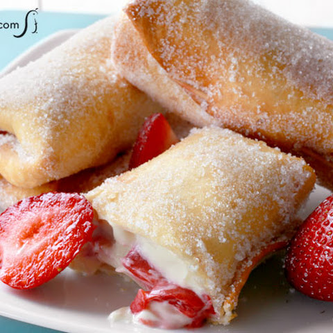 Strawberry Cheesecake Chimichangas Recipes