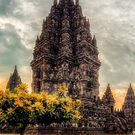 Prambanan Summer by Jimmy Kohar - Buildings & Architecture Statues & Monuments