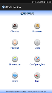 iCode Pedidos - screenshot