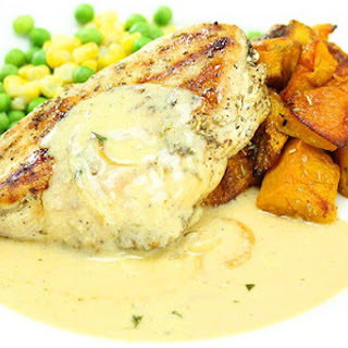 Rosemary Chicken with Tarragon Sauce