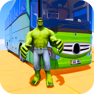 Superhero Big Bus Stunts Drive For PC (Windows / Mac)