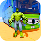 Superhero Big Bus Stunts Drive