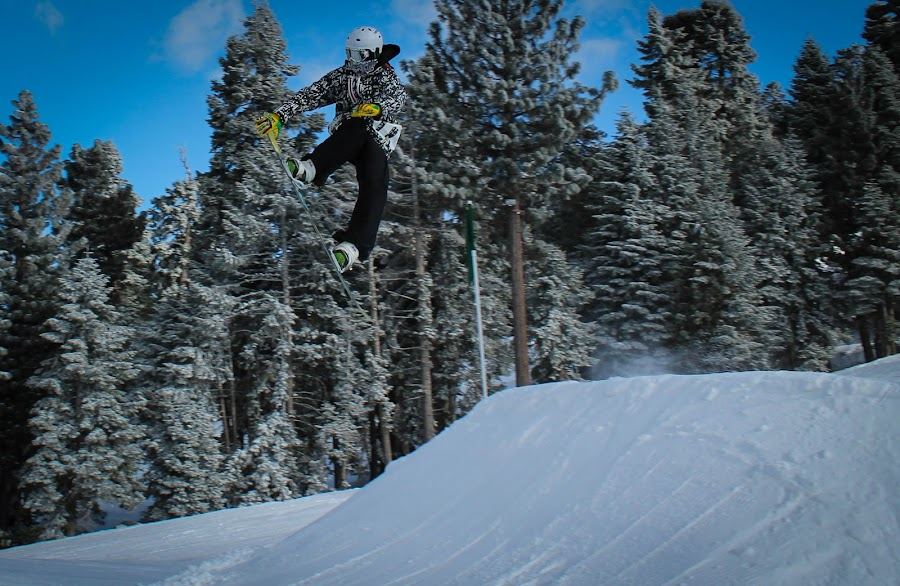 Nose Grab by Jay Woolwine Photography - Sports & Fitness Snow Sports ( ski, snowboard, snow summit, action )