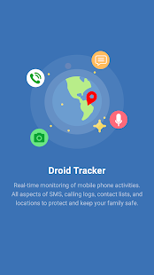 Droid Tracker - GPS&Call&SMS - screenshot