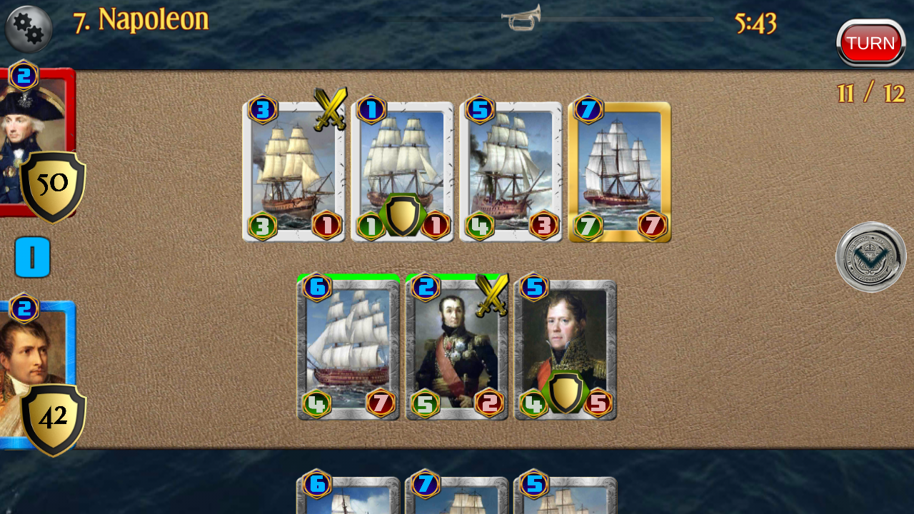 Napoleon War Cards Screenshot 11