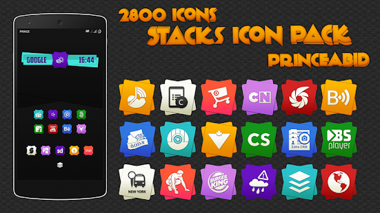Stacks Icon Pack- screenshot thumbnail