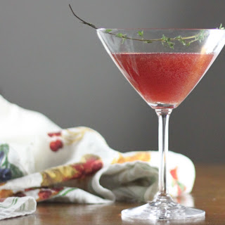 Pomegranate Spice Martini