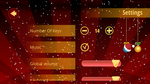 Piano Christmas Carols - screenshot