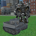 Tank Robot Battle Icon