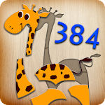 384 Puzzles for Preschool Kids Icon