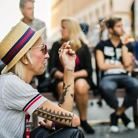 Originality by Florin  Galan - People Street & Candids ( tattoo, candid, street, people, women,  )