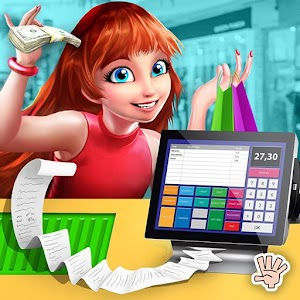 Shopping Mall Girl Cash Register: Fashion Store