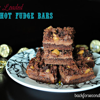 Fully Loaded Hot Fudge Bars
