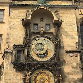 Antique Clock by Desi Albert Mamahit - Artistic Objects Antiques ( antique clock )