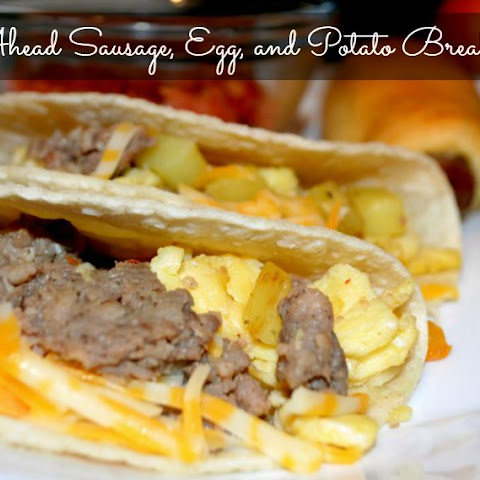 Make Ahead Sausage Breakfast Tacos