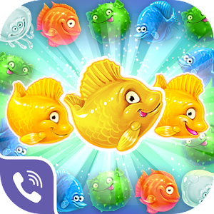 Viber Mermaid Puzzle Match 3 Icon
