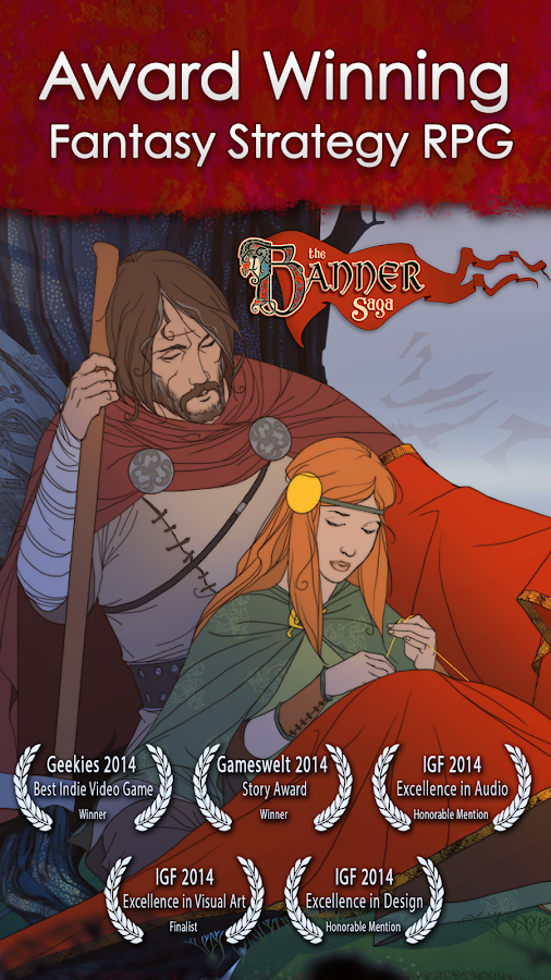 The Banner Saga Screenshot 0