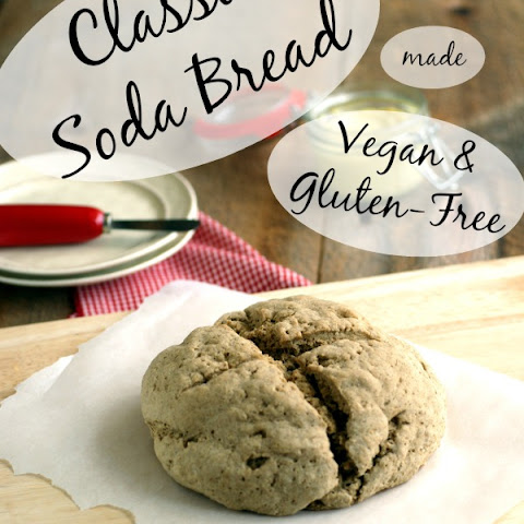 Classic Soda Bread made Vegan and Gluten-Free