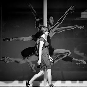 dance... by Boricic Goran - City,  Street & Park  Street Scenes ( z )
