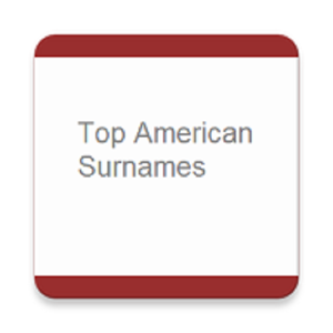 Top American Surname