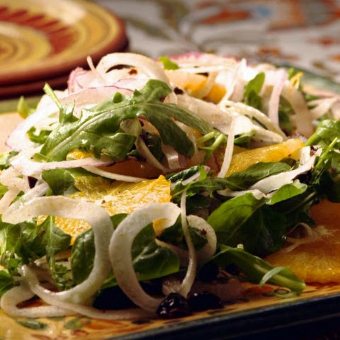 Orange, Red Onion and Fennel Salad
