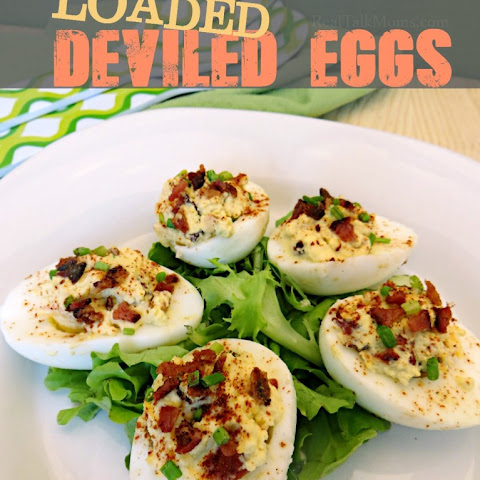 Loaded Deviled Eggs
