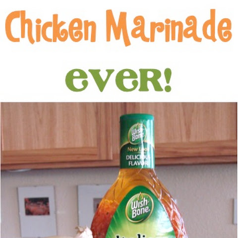 Easy Italian Chicken Marinade!