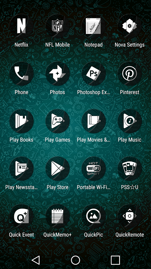 Naz Transparency - Icon Pack Screenshot 6