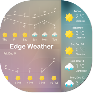 Download Weather for Edge Panel