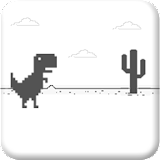 Dino Saiyajin Runner T-Rex Chrome file APK Free for PC, smart TV Download