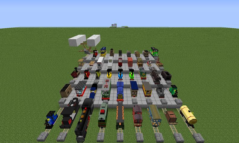 Train Station Mod for MCPE Screenshot