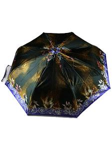 """Зонт """"Компакт L"""", 110см, коричневый"""