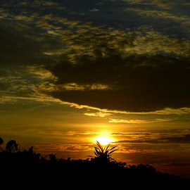 Matahari Tertancap by Agus Aniam's - Landscapes Sunsets & Sunrises ( agusaniams )